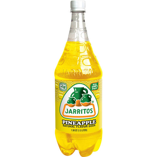 Jarritos Pineapple Soda 8 1 5ltr 1 Hispanic Wholesale